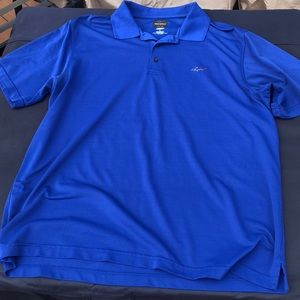 Greg Norman Blue Golfshirt